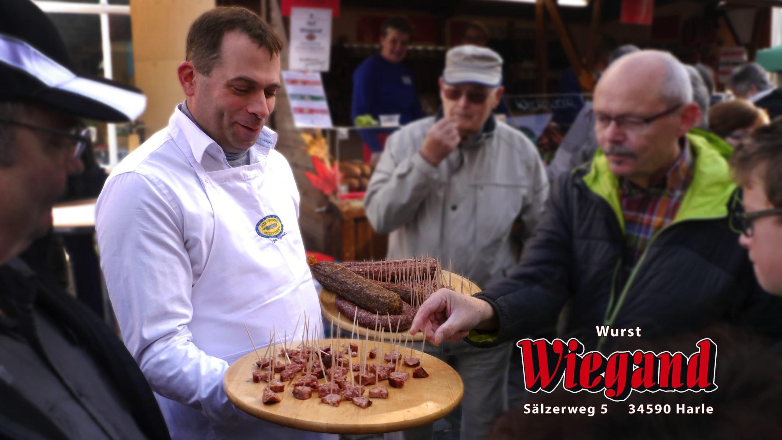 Wolfgang Wiegand Herstellung Ahle Wurscht